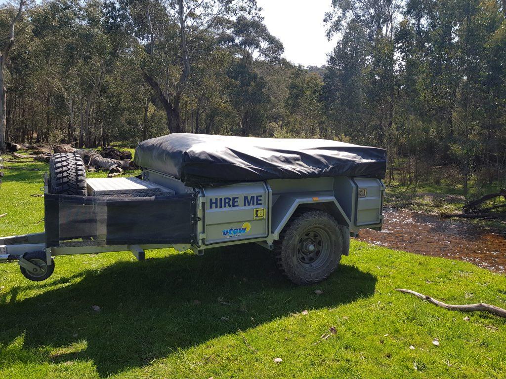 Johnnos offroad camper trailer