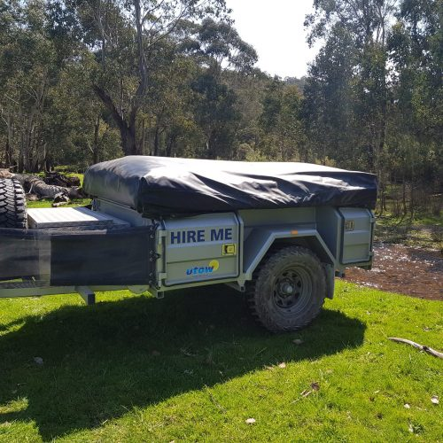 Johnnos offroad camper trailer