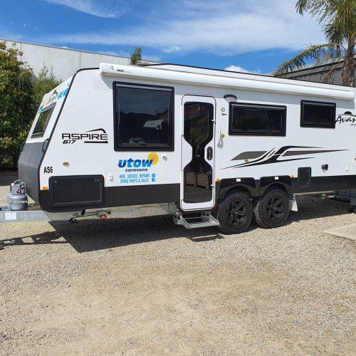 Avan Aspire Caravan 617 Family bunk